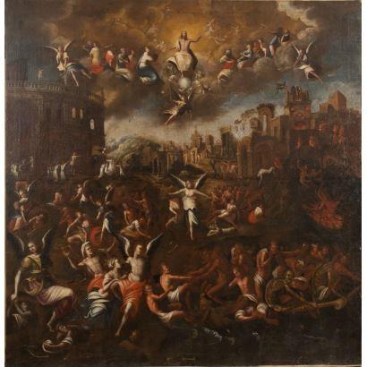 MARTEEN DE VOS (El jóven) (Amberes, 1532-1603). Óleo sobre lienzo. ss.XVI-XVII.