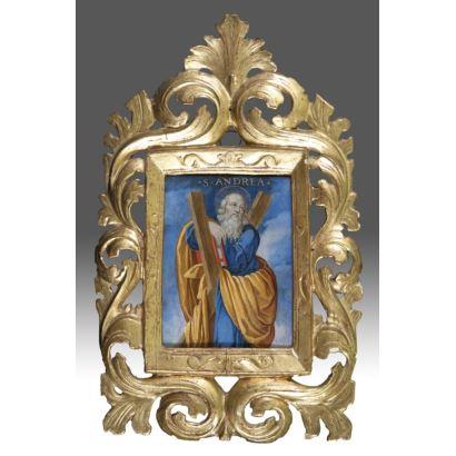 Óleo sobre cobre. Circa S.XVIII . Escuela Italiana