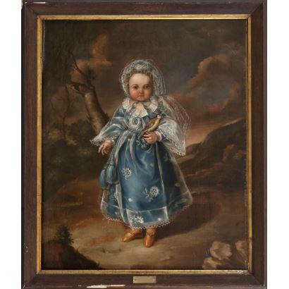 ANTONIO CARNICERO (1748-1814). Óleo sobre lienzo.