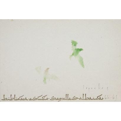 SEGRELLES, José (1885-1969). Acuarela sobre papel. Numerada 75/300.
