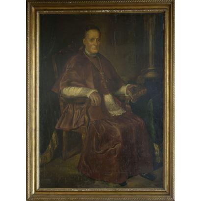 Óleo sobre lienzo pegado a tabla. Siglo XIX.