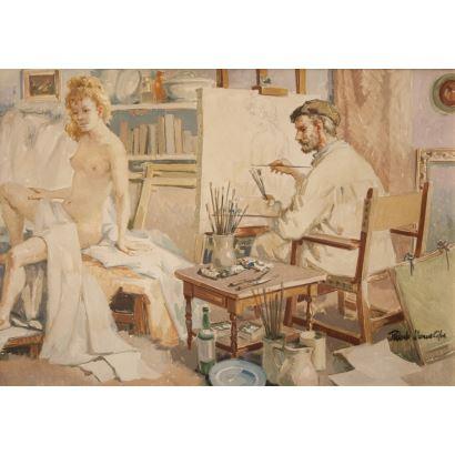 RICARDO LLORENS CIFRE (Valencia, 1926).