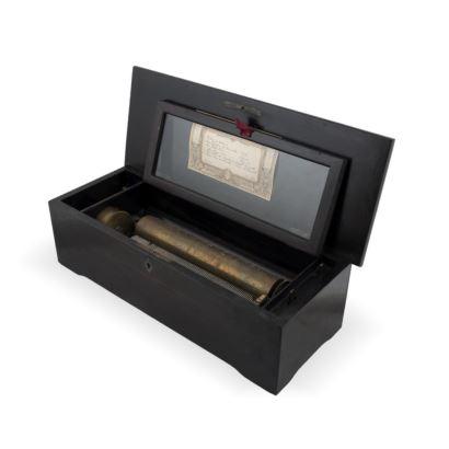 Caja de música Suiza, finales S. XIX