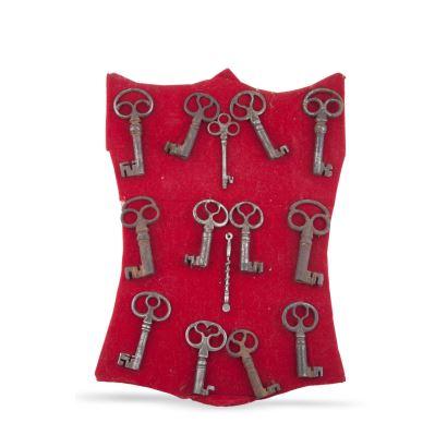 Catorce llaves, S. XIX.