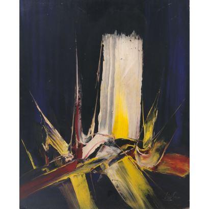 Pintura del siglo XX. MANUEL VIOLA (Zaragoza, 1916-San Lorenzo del Escorial, 1987).