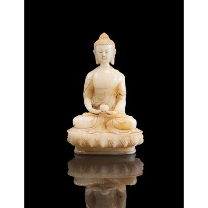 Figura en jade, China, pps. XX.