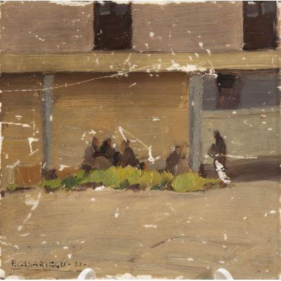 Pintura del siglo XX. FRANCISCO CASARIEGO (Oviedo, 1890-1958)