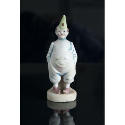 Porcelana. Palillero en porcelana, pps. siglo XX.