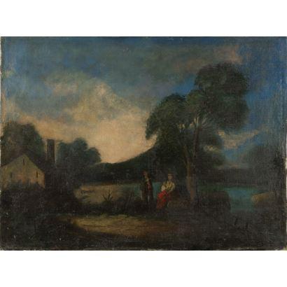 Pintura del siglo XIX. ESCUELA ESPAÑOLA S.XIX.