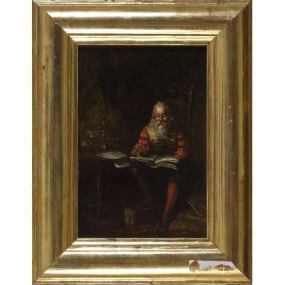 Pintura del siglo XIX. LORENZO CASANOVA.