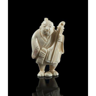 Netsuke, principios del s. XX.