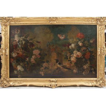 Óleo sobre lienzo. Siglo XVIII.