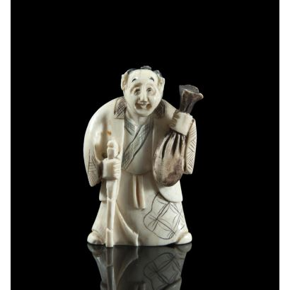 Netsukes. Netsuke, principios del s. XX.
