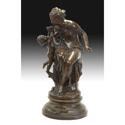 Venus con amorcillo, ffs. XIX.