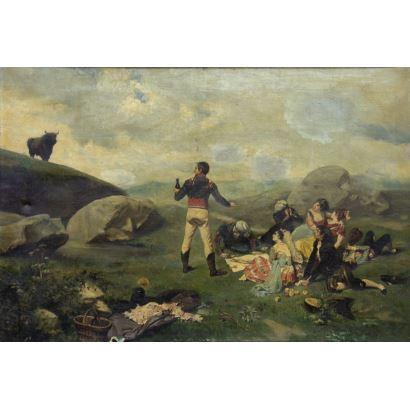 Pintura del siglo XIX. Escuela madrileña, siglo XIX.