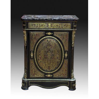 Muebles. Entredos, estilo boulle, S. XIX.