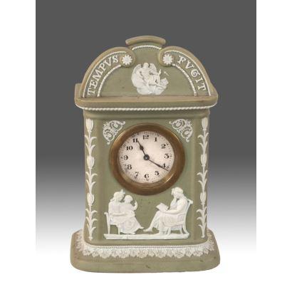 Reloj, Wedgwood h. 1891-1908.
