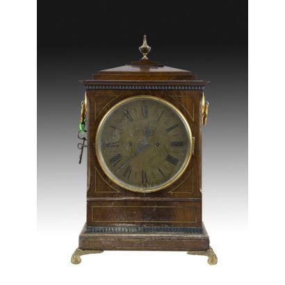 Reloj Bracket, Inglaterra S. XIX.