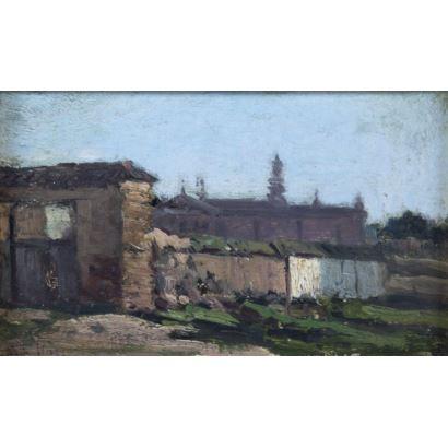 CARLOS DE HAES (Bruselas, 1826 - Madrid, 1898)