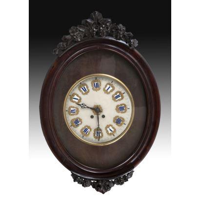 Reloj de ojo de buey, S. XIX.