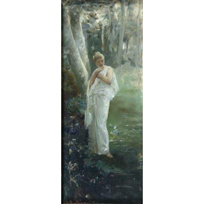Pintura del siglo XIX. RAMÓN MUÑOZ RUBIO (Jaén, 1867-1910)