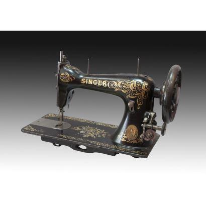 Máquina de coser, Singer, años 60.