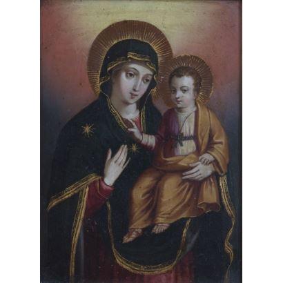Virgen del Pópulo, siglo XVII.