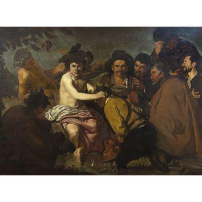 Siguiendo modelos de Velázquez, siglo XIX.