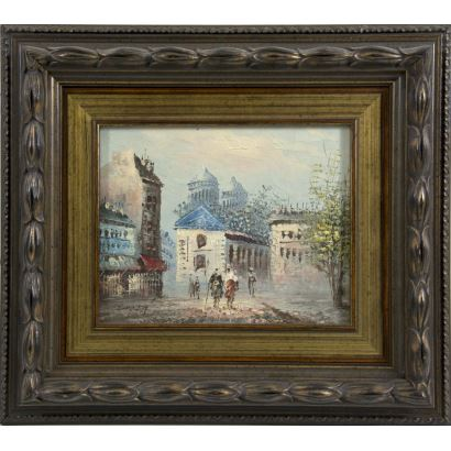 Burnett, Caroline (Francia, París, circa 1900).