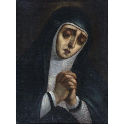 Pintura de Alta Época. Escuela madrileña, ppios. S. XVII.