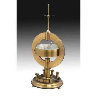 Aparato de medición náutico, Breguet, siglo XIX.