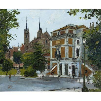 Escuela madrileña, siglo XX.