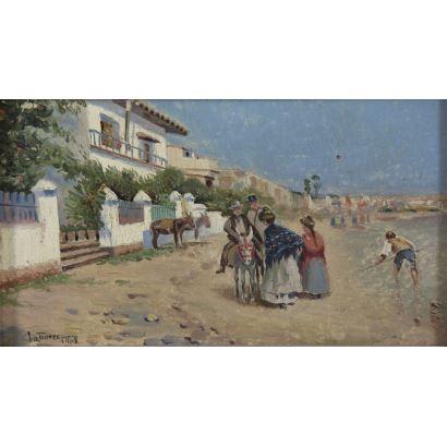 ANTONIO DE LA TORRE LÓPEZ (Murcia, 1886 - Málaga, 1918).
