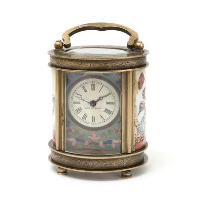 Reloj de viaje francés, PPIOS. S. XX.