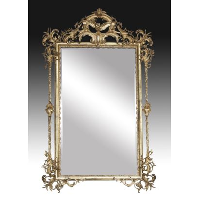 Espejo Isabelino, siglo XIX.