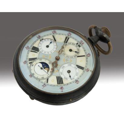 Reloj de bolsillo inglés, circa 1900.