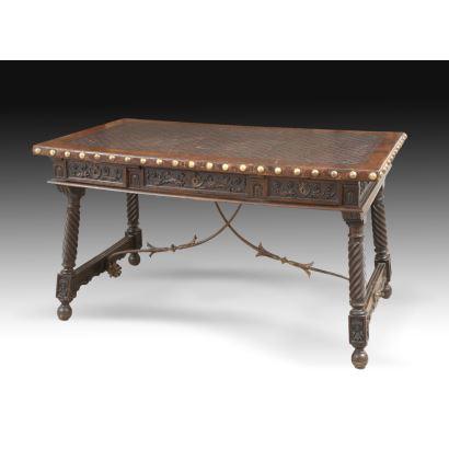 Mesa estilo renacimiento, Fin S. XIX.