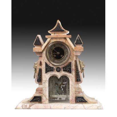 Reloj de sobremesa, finales S. XIX.