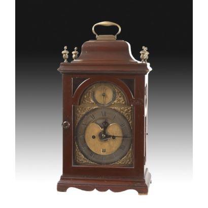 Relojes. Reloj bracket, estilo Jorge III, tercer cuarto del S. XVIII.