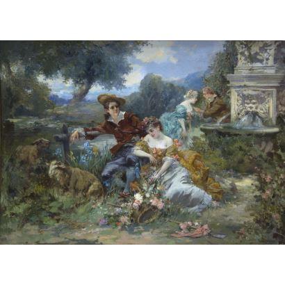 VICENTE DE PAREDES (Valencia, 1845 - París, 1903)
