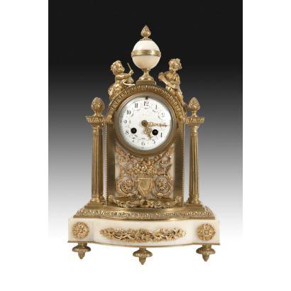 Reloj de sobremesa francés, ffs. XIX.