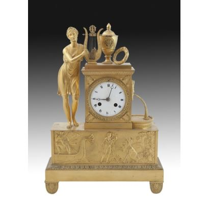 Reloj de sobremesa, Francia, ffs. XIX.