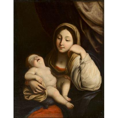 Escuela boloñesa, S. XVII. Círculo de Guido Reni (Italia, 1575 - 1642).