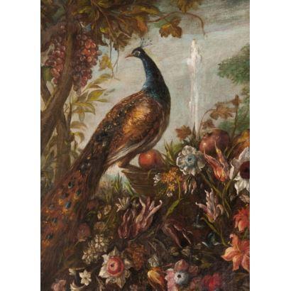 Siguiendo modelos de David de Coninck, S.XVIII