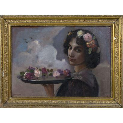 ANTONIO ALSINA Y AMILS (Tárrega, 1864 - Barcelona, 1948)