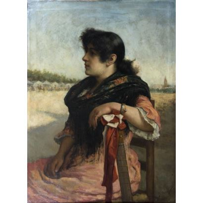 JOSÉ MARÍA ALARCÓN Y CÁCERES (Murcia, 1848-Madrid 1904).