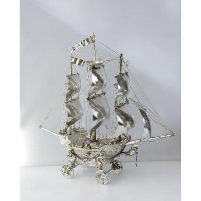 Barco en plata española, pps. XX.