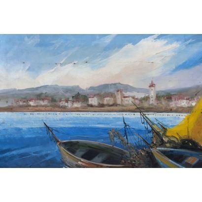Pintura del siglo XX. CARLOS DARRIVER (Madrid, 1939)