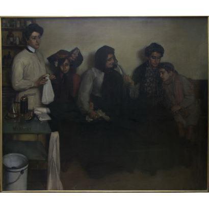 ENRIQUE LÓPEZ MEZQUITA (Granada, 1883 - Madrid, 1954).