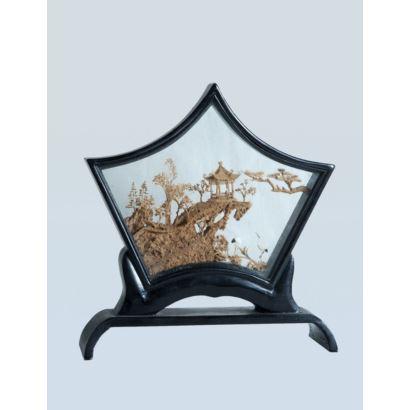 Objetos. Diorama chino, S. XX.
